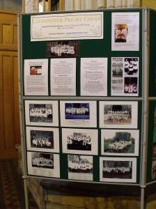 Choir display