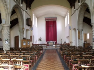 St. Michael's interior
