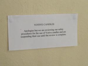 Problems with candles?