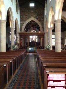 Interior of St. Mary's, Henley