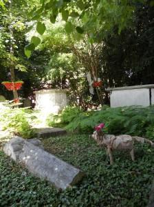 Art in St. Mary's churchyard
