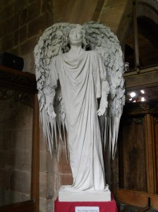 A wonderful angel by James Hand - it reminds me of Dr Who!